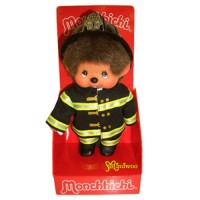 Monchhichi S Size Plush MCC Fire Fighter 239450