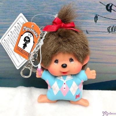 Monchhichi SS Big Head Mascot Keychain Golf Club Girl 239610