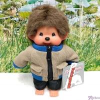 Monchhichi S Size Fashion Plush Dressed Beige Jacket & Pants Boy 239820