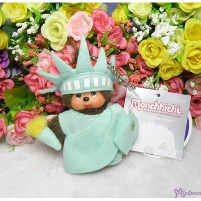 Monchhichi USA Limited MCC Mascot Keychain - Statue of Liberty 241890