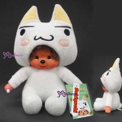 Monchhichi x Sony Limited S Size Plush Sitting MCC - Toro Cat 243360