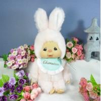 Monchhichi Friend Chimutan M Size 34cm Chimtan Chim tan Bunny Pink 250738