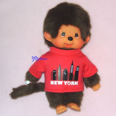 Sekiguchi Monchhichi S Size 20cm Manhattan Red 252580