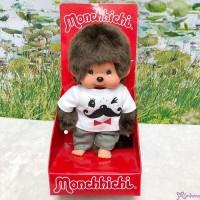 Monchhichi S Size 18cm Plush Mustache Tee & Pants Boy 252660