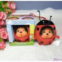 Monchhichi 9cm Plush Mini Animal Ball - Ladybug 254996
