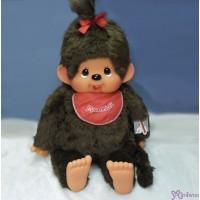 Monchhichi 2L Stand Version 80cm Red Bib Girl 255610