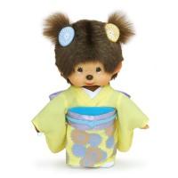 Monchhichi 20cm Plush MCC Kimono Chrysanthemum Girl 256365
