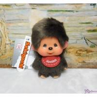 Big Head Monchhichi Mascot SS Size Keychain Red Bib Boy 257120