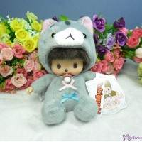 Bebichhichi 13cm Cat Plush Kitten BBCC Boy Grey 258499