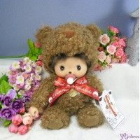 Bebichhichi M Size Plush BBCC Brown Bear 260591