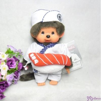 Monchhichi S Size Plush Japanese Sushi Master Boy 261031
