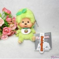 Big Head Monchhichi Mascot SS Size Keychain Matcha Green Tea 261185