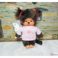 Monchhichi Japanese Kanji S Size Plush - Love Girl 261635