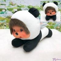 Sekiguchi Monchhichi 16.5cm Lying Panda Plush 262144