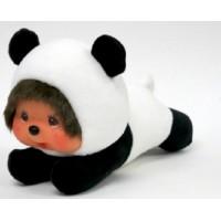 "Sekiguchi Monchhichi 16.5cm Lying Panda Plush 262144 ""Pre-Order"""