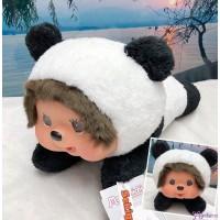 Sekiguchi Monchhichi L Size 35cm Plush Lying Panda 262182 ~ NEW ARRIVAL ~