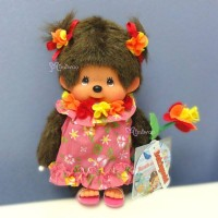 Monchhichi S Size Plush MCC Beach Side Story Muumuu Girl 263100