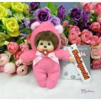 Monchhichi 10cm Plush Birthday Mascot Birth Stone Keychain - July 2677