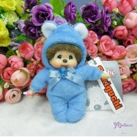 Monchhichi 10cm Plush Birthday Mascot Birth Stone Keychain - September 2679