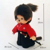 Monchhichi 20cm Plush MCC Japanese Samurai 271658