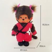 Monchhichi 20cm Plush MCC Japanese Ninja Girl 271672