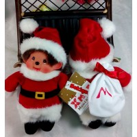 Monchhichi S Size Christmas MCC Santa Claus DX with Bag 288000