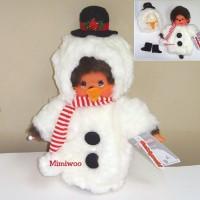 Monchhichi S Size Christmas MCC Snowman 2882
