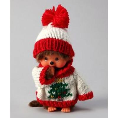 Monchhichi S Size MCC Christmas X'Mas MCC Knit Shirt & Hat 288300