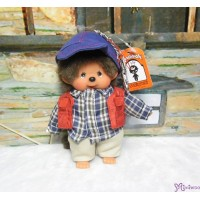 Monchhichi SS Size Plush 15cm Mascot Keychain - Streetway Outdoor Boy 29296
