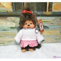 Monchhichi SS Size Plush 15cm Mascot Keychain - Streetway Sporty Girl 29297