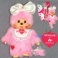 Monchhichi OTONALAB Mascot MCC Phone Strap - Lovin' Sweet 293040