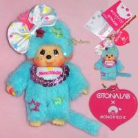 Monchhichi OTONALAB Mascot MCC Phone Strap - Pop'n Star 293070