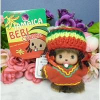 Bebichhichi BBCC Plush Cell Phone Strap Mascot Jamaica Red Girl 293550