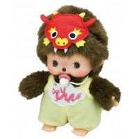 Monchhichi Bebichhichi BBCC Plush Year of Dragon Yellow 294390