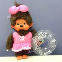 Monchhichi S Size Plush Beach Side Story Swim Suits Girl with Floaty 295902