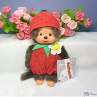 Monchhichi S Size 20cm Plush Summer Fruit - Strawberry 2974