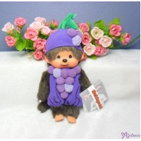 Monchhichi S Size 20cm Plush Summer Fruit - Grape 2977