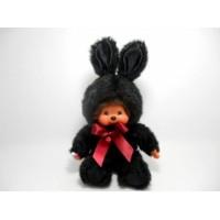 Monchhichi S Size Plush MCC Bunny Black 298570
