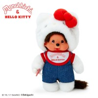 Hello Kitty x Monchhichi S Size Plush 20cm Limited 323847