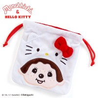 Hello Kitty x Monchhichi Small Pouch Bag 324097