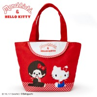 Hello Kitty x Monchhichi Canvas Bag 31x 14cm Strap Handbag 324110