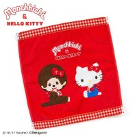 Hello Kitty x Monchhichi 100% Cotton Towel 324394