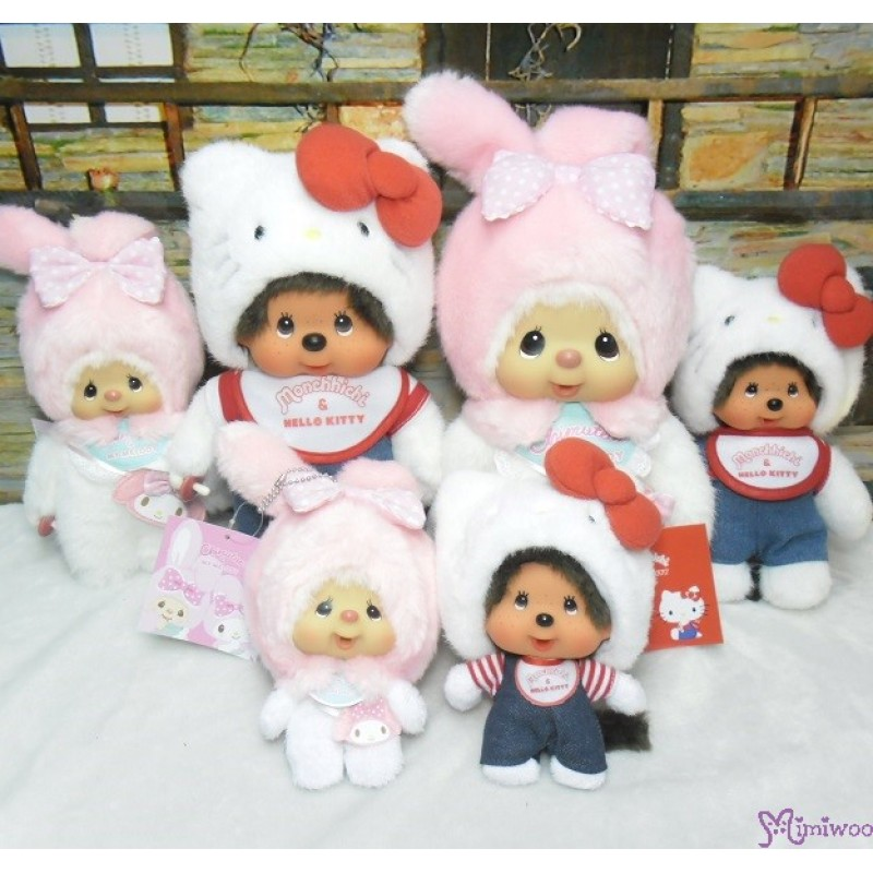 Melody x Monchhichi M Size Chimutan Plush 30cm Limited 324431 5e42a23650ca8