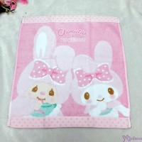 Melody x Monchhichi Chimutan Chim Tan Bunny 100% Cotton Towel 324990 ~~LAST ONE ~~