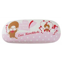 Monchhichi Glasses Case Eyeglasses Protection Box - Love MCC 336655