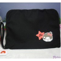 "Monchhichi Notebook Computer pad 100% Cotton Bag Handbag  ""LAST ONE"" 40476"