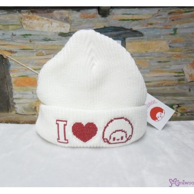 Monchhichi Winter Knit Hat I Love MCC (for Adult) 40872