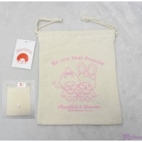 Monchhichi & Chimutan Bag 100% Cotton Totebag Chim Tan Eco Bag 40995