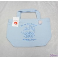 Monchhichi & Chimutan Bag 100% Cotton Chim Tan Eco Handbag Blue 41039