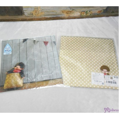 Monchhichi 2-Side Print Baby Handkerchief L Size Style A (Made in Japan) 475629